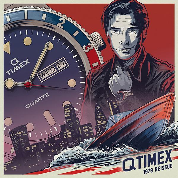 【Q TIMEX 】日本発売