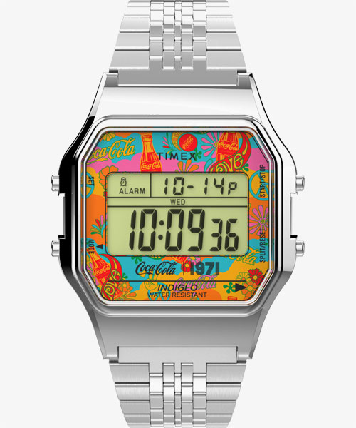 TIMEX × Coca-Cola Classic Digital