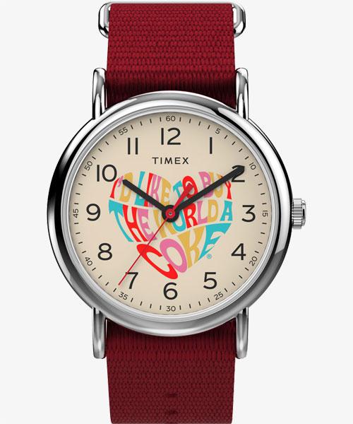 TIMEX × Coca- Cola Weekender